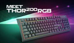Recenze: Herní klávesnice Genesis Thor 200 RGB
