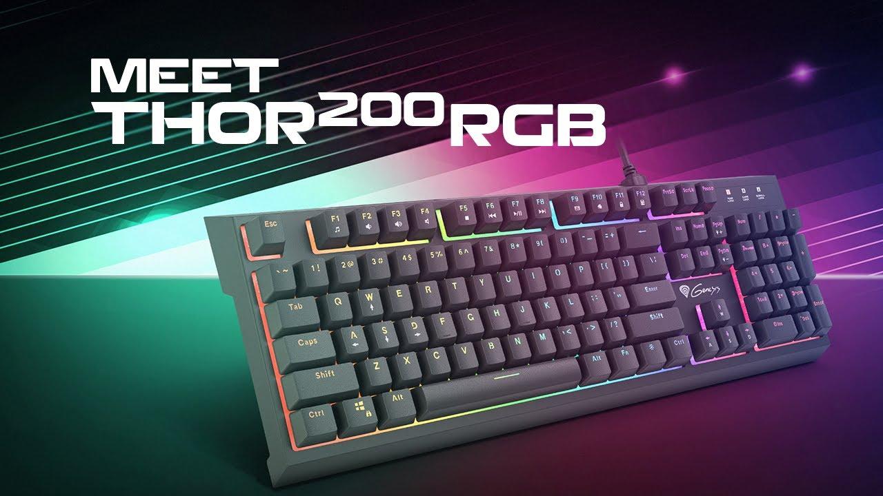 Genesis Thor 200 RGB